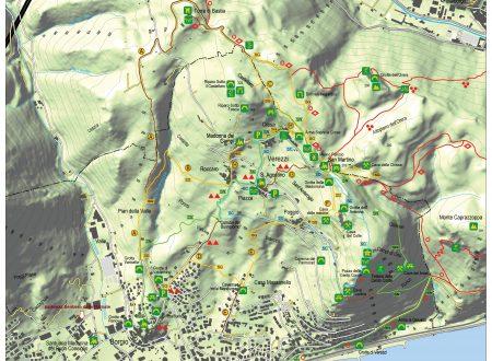 Cartina dei Sentieri Natura-Cultura-Geologico-Percorsi Rurali
